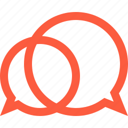 bubbles, chat, communication, conversation, discussion, messaging, speech icon
