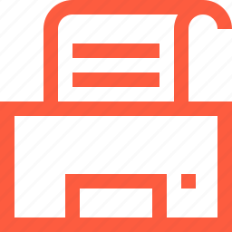 document, office, paper, print, printer, sheet, work icon