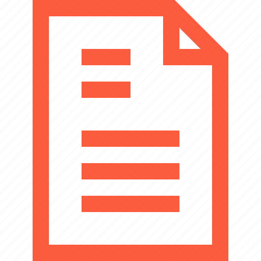 doc, document, file, letter, message, paperwork, text icon