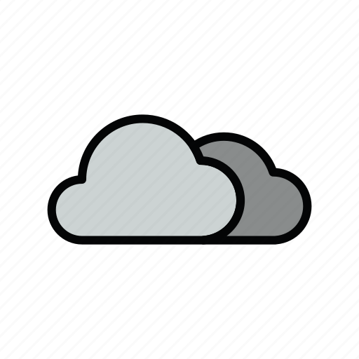 cloud, cloudy, meteo icon