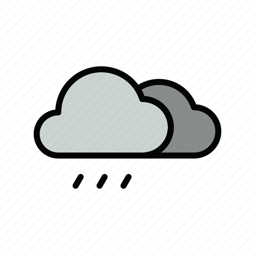 meteo, rain, rainy icon