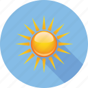 beautiful, hymidity, rain, sky, sun, temperature, weather icon