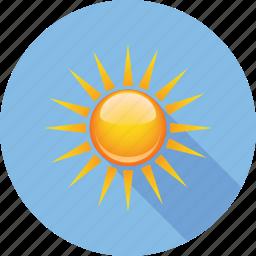 beautiful, hymidity, rain, sky, sun, temperature, weather icon