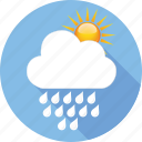 cloud, hymidity, rain, strom, sun, temperature, weather icon