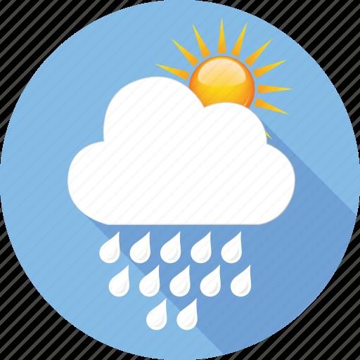 cloud, hymidity, rain, strom, sun, temperature, weather icon