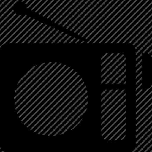 fm, music, musical, radio, radioreceiver, wireless icon