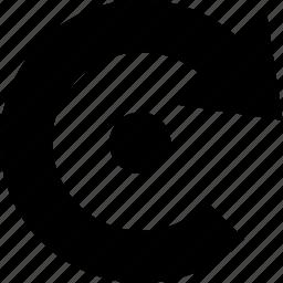arrow, cancel, media, previous, redo, refresh, repeat, roll back, rollback, rotate, rotation, transaction, undo icon