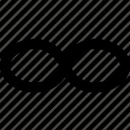 infinite, infinity, loop, refresh, reload, repeat, rotate, update icon
