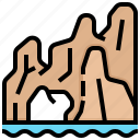 lucus, mexico, arch, san, cabo icon