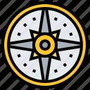 coin, mexico, sun icon