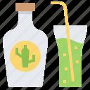 beverage, bottle, cactus, drink