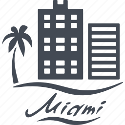 comfort, gothel, miami, structure icon
