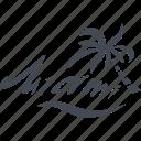 miami, recreation, palm, resort