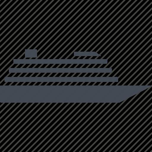 cruise, miami, motor ship, sea icon
