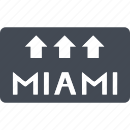 country, island, miami, nation, palm icon