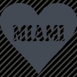 island, miami, recreation, resort area icon