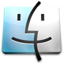 finder, mac os x icon
