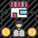 buyer, consumer, customer, market, shopping icon