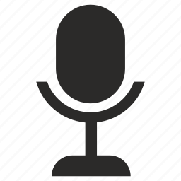 device, mic, microphone, singer icon