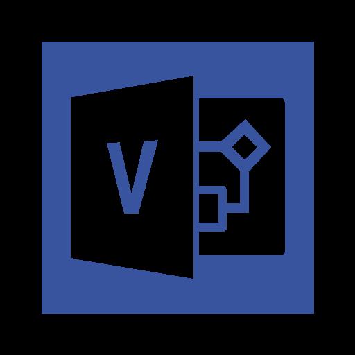 microsoft, ms, office, services, suite, visio, windows icon