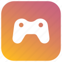 center, entertainment, games, gaming, play, store icon