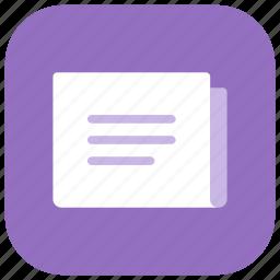 app, information, media, news, newspaper, paper, press icon