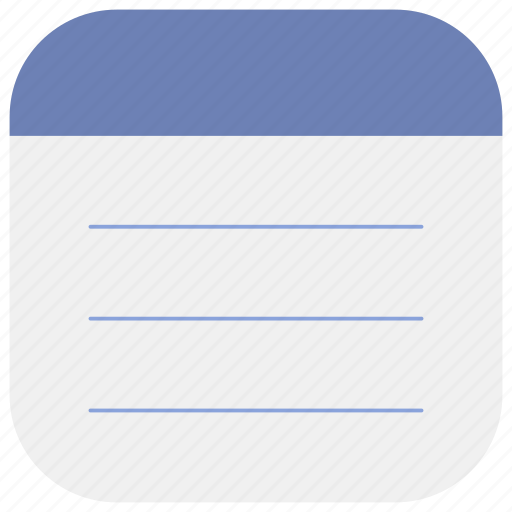 app, manages, memo, notepad, notes, task, tasks icon