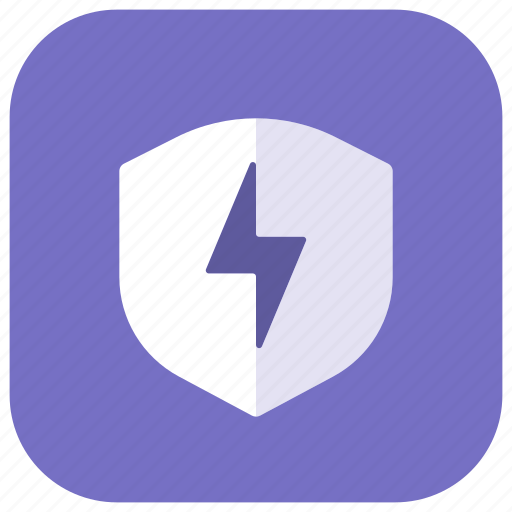 Energy, security, settings, antivirus, guard, protection, shield icon - Download on Iconfinder