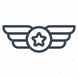 badge, corps, emblem, insignia, medal, military, war icon