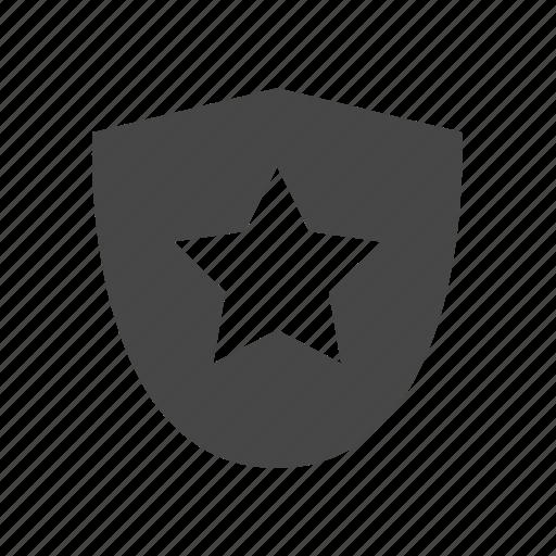 badge, insignia, military rank, rank, shield icon