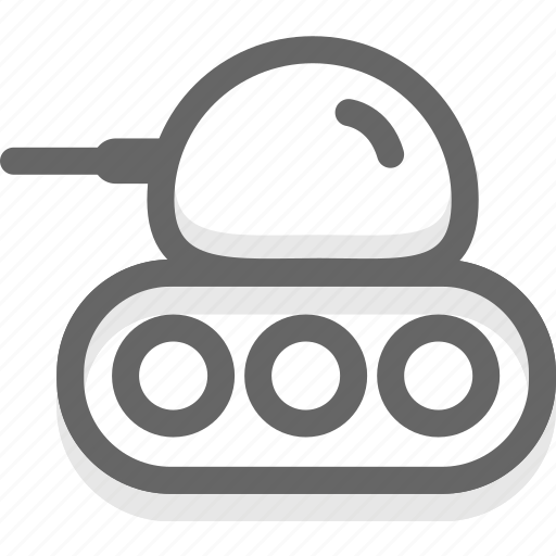military, tank, weapons icon