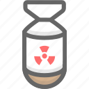military, nuke, weapons icon