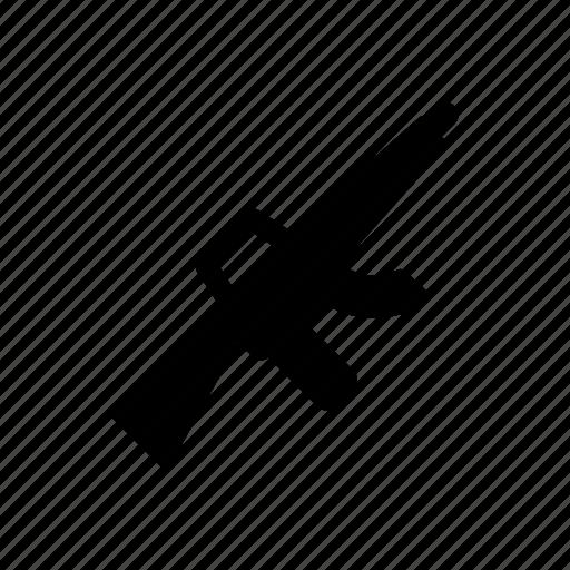 army, gun, military, rifle, war, weapon icon