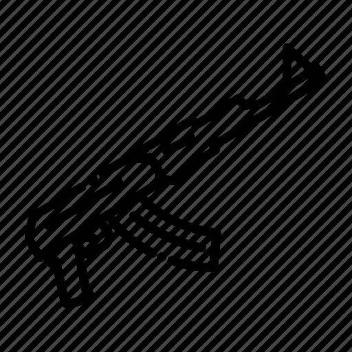 army, gun, guns, machine, miscellaneous, shoot, weapon icon