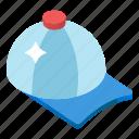 cap, hat, head protection, headgear, headpiece, headwear icon