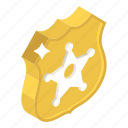 police badge, police ranking, security badge, sheriff badge, star shield