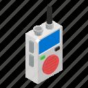 radio, transceiver, walkie talkie, wireless mobile, wireless phone icon