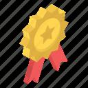 award, award badge, badge, reward, ribbon badge