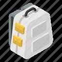 backpack, knapsack, luggage bag, military bag, shoulder bag, travel backpack icon