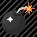 ammunition, bomb, bombshell, dynamite, explosive material icon