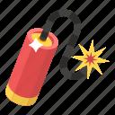 bomb, bombshell, dynamite, dynamite bomb, explosive material