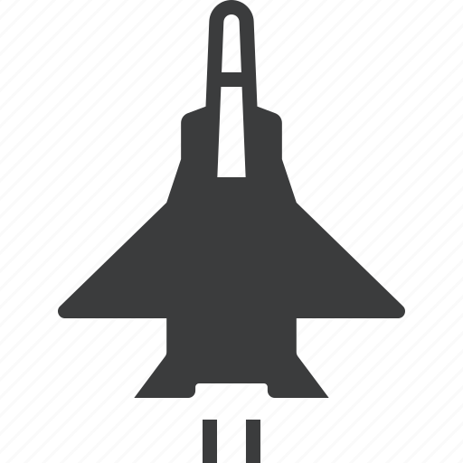 air, aircraft, fighter, force, jet, military, war icon
