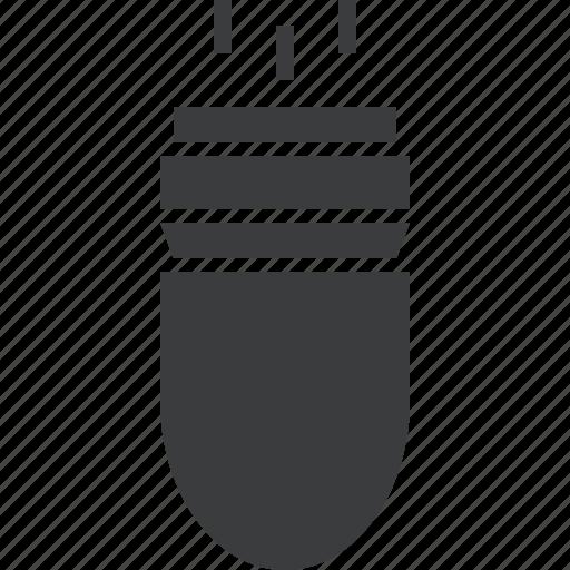 ammunition, bullet, gun, pistol, shoot, war, weapon icon
