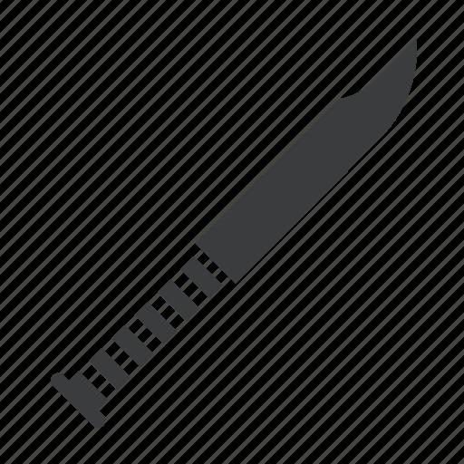 army, blade, kill, knife, military, sharp, weapon icon