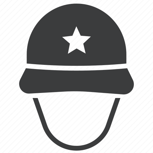 army, gear, helmet, military, protection, soldier, war icon