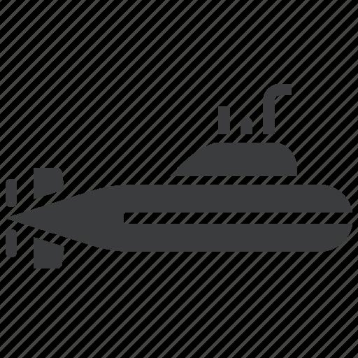 bathyscaphe, nautical, navy, ocean, submarine, submersible, underwater icon