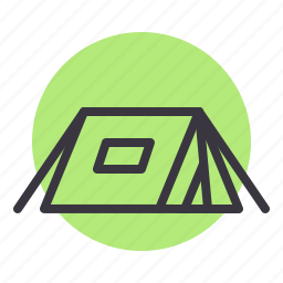 camp, camping, holiday, outdoor, tent, toursim, vacation icon