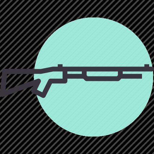 ammunition, army, gun, shoot, shotgun, war, weapon icon