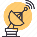communication, device, radar, satellite, signal, technology icon