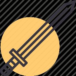 battle, combat, fight, knight, sword, war, weapon icon